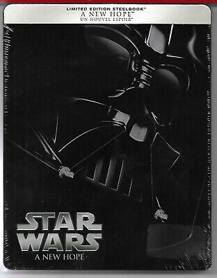 STAR WARS - A New Hope / Blu-Ray Steelbook Neuf sous blister - VF