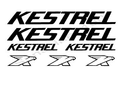 7x Kestrel Aufkleber BMX Sticker Shimano Bicycles Bike Cycle MTB BMX Mountenbike