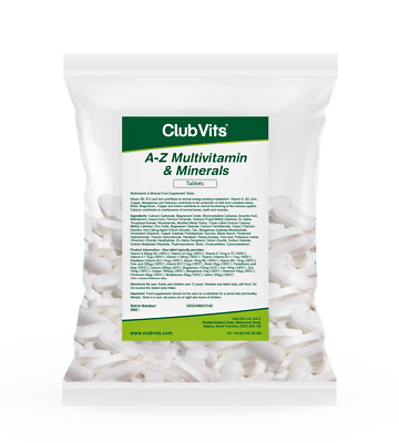Club Vits - A-Z Multivitamin & Mineral - 365 Tablets