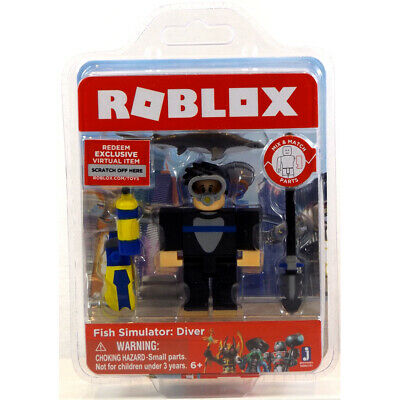 ROBLOX CORE FIGURE Pack - Frost Guard General 6Yrs+ NEW - £11 99