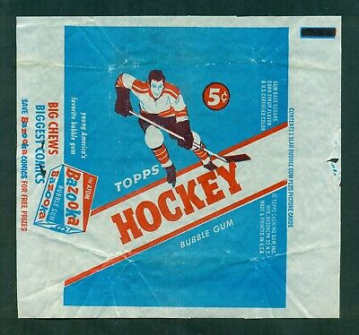 1954 Topps Hockey Wax Pack WRAPPER 5 Cents