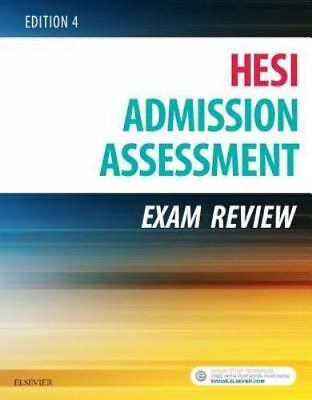 Admission Assessment Exam Review 4th Edition by Hesi Textbook Paperback 2016