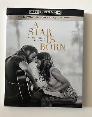 A Star Is Born (4K UHD + Blu-ray) (No Digital) - Lady Gaga, Bradley Cooper