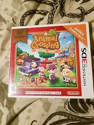 Animal Crossing New Leaf Welcome Amiibo 3DS USA With 20 Amiibo Cards