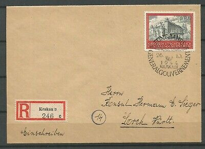 Germany/Poland/General Gouv.interested cover 3,SIGNED!