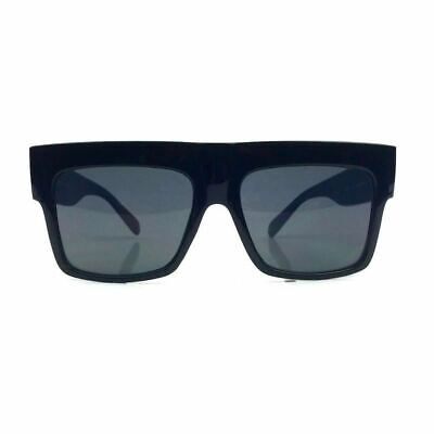 5c849d21e90b NEW FLAT TOP Designer Oversized Sunglasses Color Lens Square Frame ...