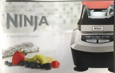 NINJA INSPIRATION GUIDE RECIPE Book From Ninja Kitchen ...