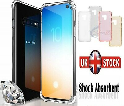 For Samsung Galaxy S8 S9 Plus S7 Edge Note Ultrathin Shockprof Bumper Case Cover