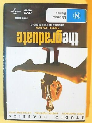 The Graduate [ Region 4 DVD ] BRAND NEW & SEALED, Free Next Day Post from NSW