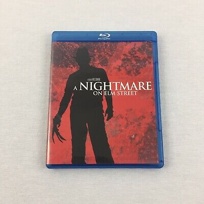 A Nightmare on Elm Street (Blu-ray, 2010) Wes Craven John Saxon Tested & Cleaned
