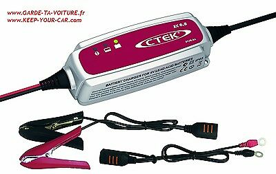CTEK XC 0.8 6V chargeur de batterie automatique /automatic battery charger