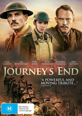 Journey's End : NEW DVD : Australian Stock : *PRICE SMASHED*