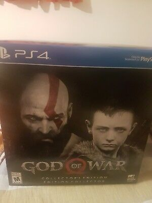 NEW PS4 God of War Collector's Edition