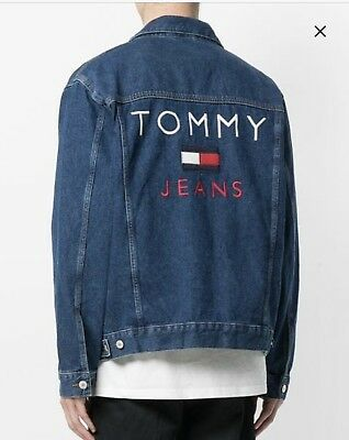 TOMMY HILFIGER Men/'s Lined Denim Jacket TOMMY JEANS CAPSULE collection NWT
