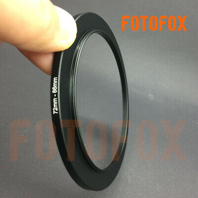 72mm to 86mm Stepping Step Up Filter Ring Adapter 72mm-86mm M to F