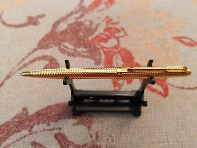 Parker Made In France Gold Ballpoint Pen