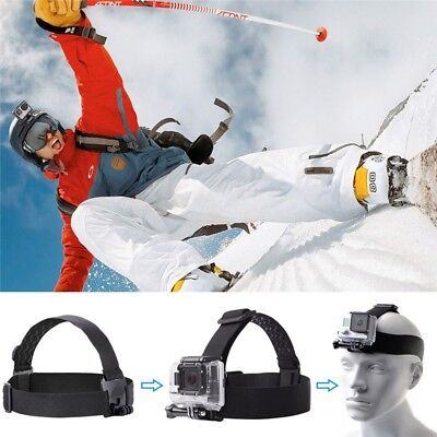 Extreme Sport Head Strap Mount For Gopro Hero 4/3/2/1 Action Camera Accessories