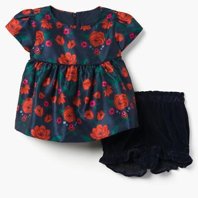 a525df6a0465 NWT GYMBOREE ROSE Bloomer Set Christmas Party Dressed Up Shop Baby ...