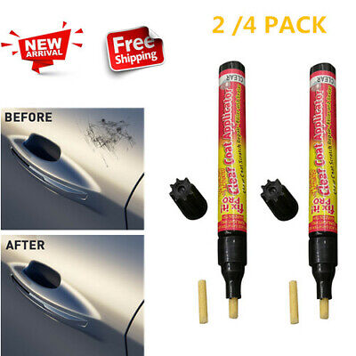 2 / 4PCS Auto Scratch Magic Eraser Repair Pen Car Clear Coat Applicator Fix Pen