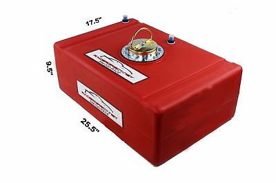 Racerdirect.net 15 Gallone Racing Economy Fuel Cell Rot D-Ring Kappe Imsa Scca