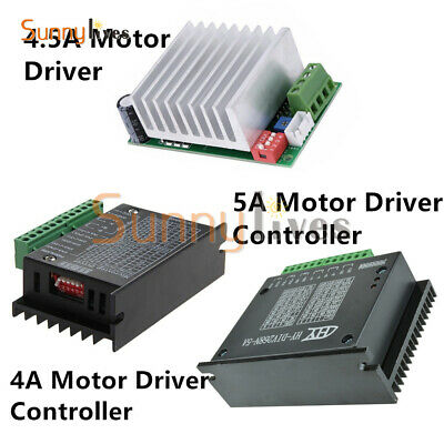 TB6600 4A 4.5A 5A CNC Single-axis Stepper Motor Driver Board Controller New