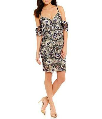 4a441535ccc GIANNI BINI Embroidered Lace INGA Dress (Black) Lace . Size XS NEW With Tag