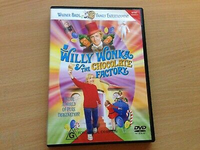 Willy Wonka & And The Chocolate Factory Gene Hackman (DVD) Region 4