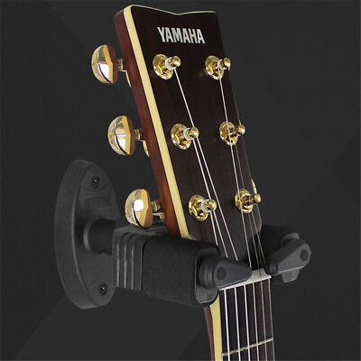Guitar Hanger Wall Mount Holder Stand Hooks Display Acoustic Electric Bass