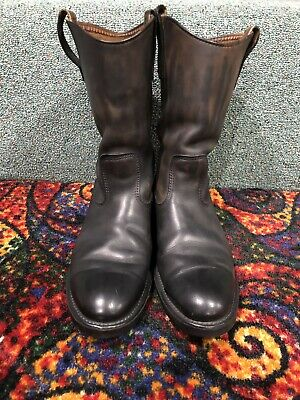 fdc7c65b37e VINTAGE RED WING Pecos Boots Motorcycle Engineer