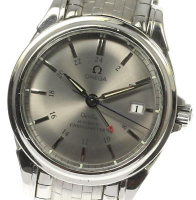 OMEGA Deville Co-Axial Chronometer GMT 4533.41 Automatic Men's Watch_457450