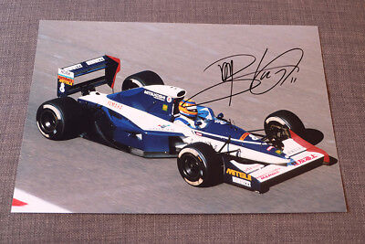 Martin Blundell Hand Signed Photo 12X8 - Formula 1 - Tyrrell (1990)