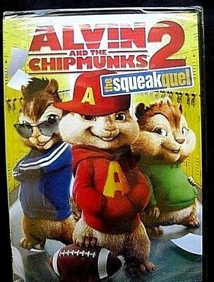Alvin and the Chipmunks 2: The Squeakquel (DVD, 2010)*Brand New-Shrink-wrapped*