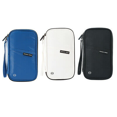 Waterproof Travel Wallet & Family Passport Holder RFID Blocking Organizer Case