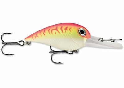 "Storm Wiggle Wart 2"" - Pink Fire, fishing lure"