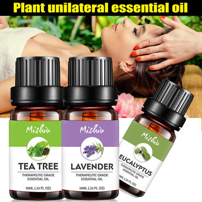Natural Essential Oils Pure Aromatherapy Oil Fragrance Aroma Treatment 10ml New