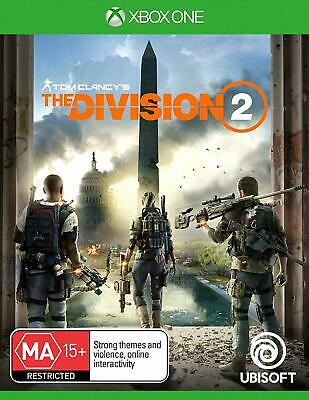 Tom Clancy's The Division 2 Xbox One Brand New Game