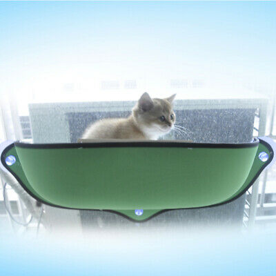 """27.5""""Cat Nest Bed Window-Mounted Cat Bed Basking Perch High Hammock"""