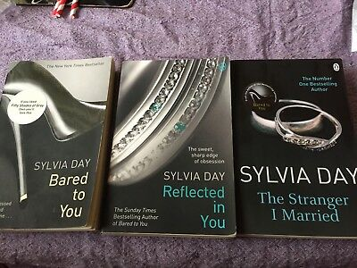 3 Sylvia day books (50 shades of grey fans)