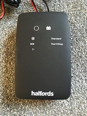 Halfords Smart Battery Charger Plus