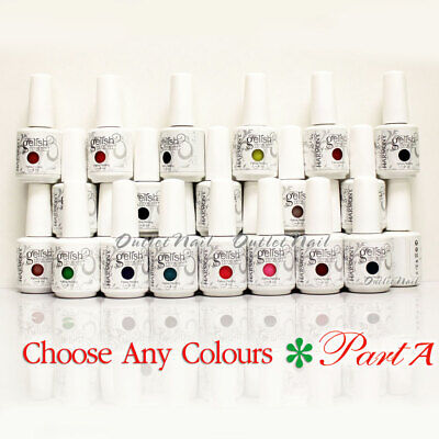 GELISH HARMONY - PART A Soak Off Gel Nail Polish Set UV Nail - Pick ANY Color
