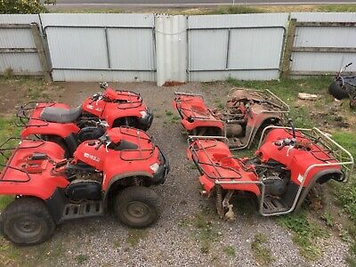 Kymco mux 400 4x4 2 bikes 2 parts bikes job lot
