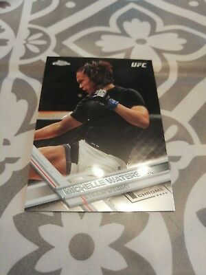 Michelle Waterson Topps UFC Trading Card 2017 Chrome