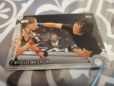 Michelle Waterson Topps UFC Trading Card 2015 Chronicles Silver