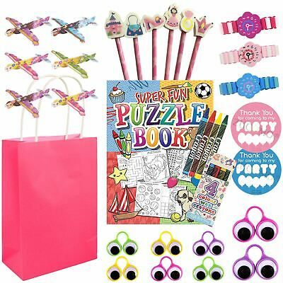 Kids Pre Filled Return Gifts Birthday Loot Party Gift Bags Fillers Toys Girls