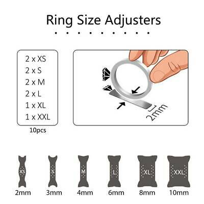 10X Invisible Ring Size Adjuster for Loose Ring Size Reducer Spacer Ring Guard