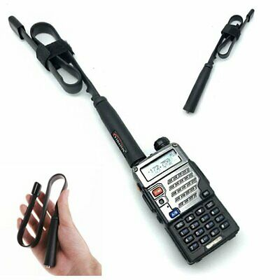 SMA-Female Connector Dual Band Foldable CS Tactical Antenna For Walkie Talkie E5