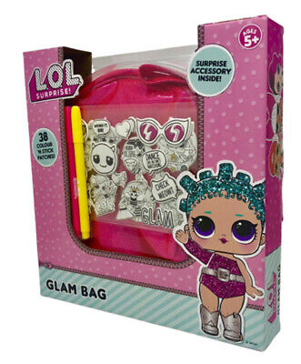 LoL Surprise Glam Bag Colour And Stick Patches