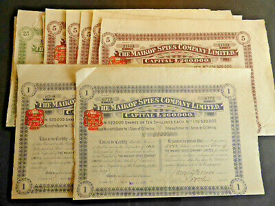 Russie / Lot : 8 X The Maikop Spies Company Limited