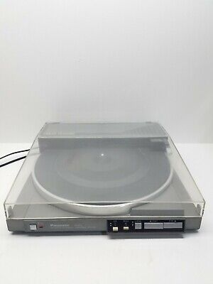 Panasonic SL-N15 Linear Tracking Computer Control Turntable  works great
