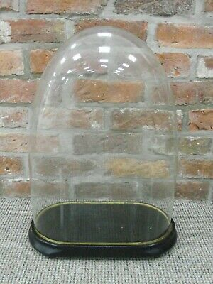 Superb Antique Victorian Large Glass Display Dome